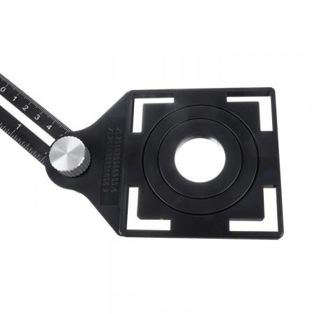 Sistem pliabil sablon aluminiu trasare gauri placi ceramice 6x175mm [1]