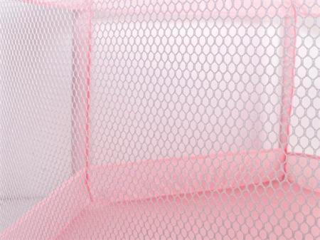 Spatiu de joaca tarc pentru copii tip piscina pliabil  dimensiune 125x65 cm  culoare roz [4]