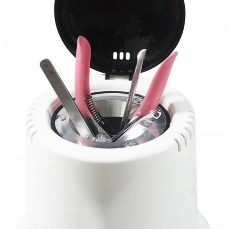 Sterilizator profesional cu bile quartz 100W pentru instrumente manichiura pedichiura10