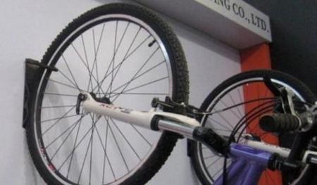 Suport bicicleta de perete depozitare prindere carlig din otel maxim 25 kg  accesorii incluse 1buc5