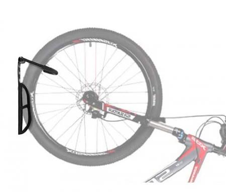 Suport bicicleta de perete depozitare prindere carlig din otel maxim 25 kg  accesorii incluse 1buc7