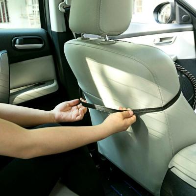 Suport lombar pentru scaun birou si auto cu bile masaj prindere cu benzi elastice9