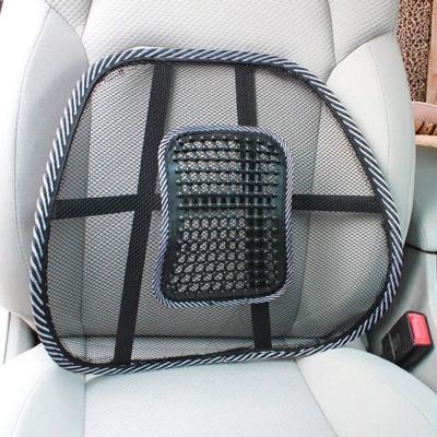 Suport lombar pentru scaun birou si auto cu bile masaj prindere cu benzi elastice3