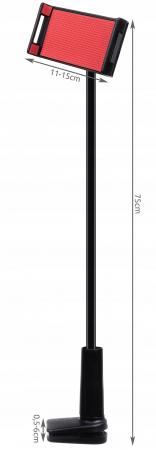 Suport flexibil  pentru telefon sau tableta intre 11-15cm, rotire 360, lungime 75 cm [4]
