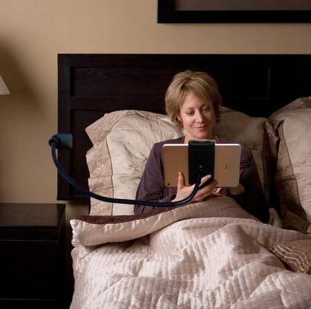 Suport flexibil  pentru telefon sau tableta intre 11-15cm, rotire 360, lungime 75 cm [5]