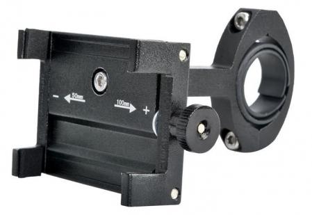 Suport telefon pentru bicicleta,Malatec universal, reglabil 50-100 mm, aluminiu [3]