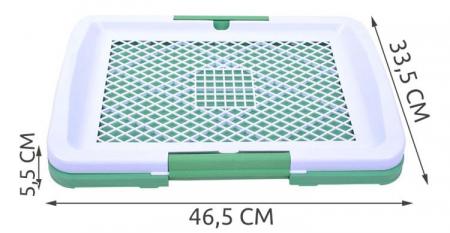 Tavita Pentru Caini Si Pisici, Cu Gazon verde Artificial [5]