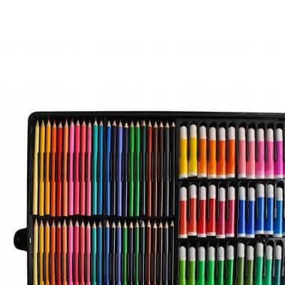 Trusa desen si pictura pentru copii, 258 piese, acuarele, creioane, pensule, carioci, valiza depozitare4