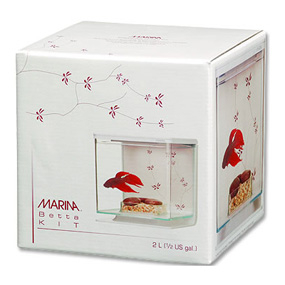 Acvariu Marina Betta Kit Contemporany 0