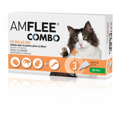 Amflee Combo Cat 50mg x3pipete 0