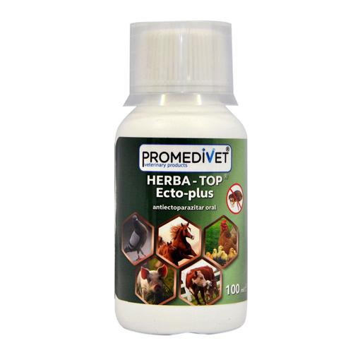 Antiectoparazitar oral Herba Top Ecto-Plus 100 ml 0