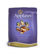 Applaws Cat Adult - Piept de pui si carne de Strut - plic 70g 0