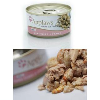 Applaws Cat Adult - Ton File si Creveti 70g 0
