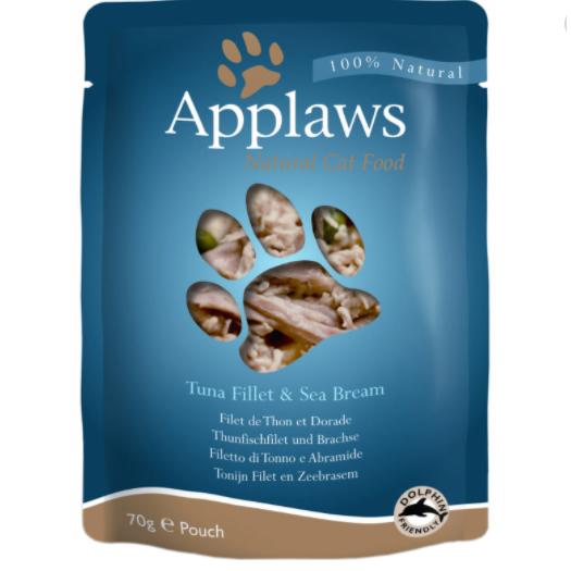 Applaws Cat Adult - Ton file si Dorada - plic 70g 0