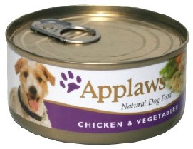 Applaws Dog Adult - pui si vegetale 156g 0