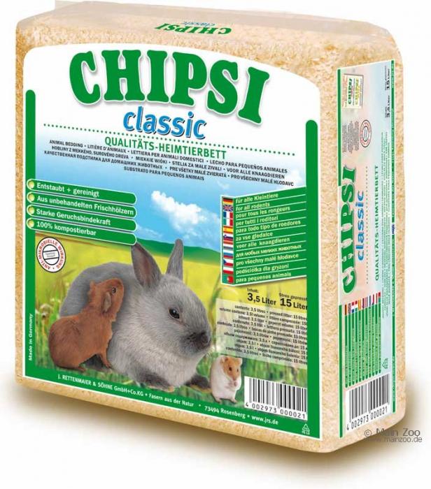 Asternut Chipsi Classic 15 litrii 0
