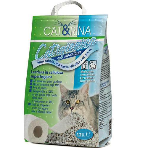 Asternut Igienic celuloza Cat&Rina 0