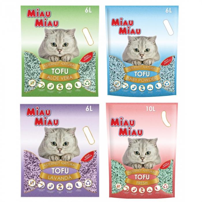 Asternut tofu, Miau Miau, pentru pisici 0