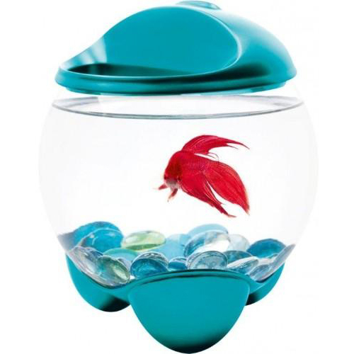 Bol Tetra Betta Bubble Turcoaz 1.8 L 0
