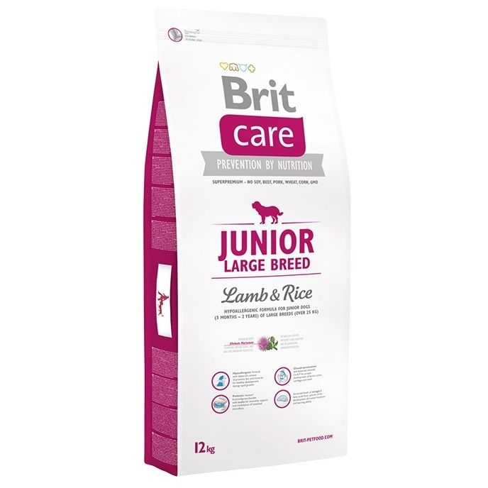 Brit Care Junior Large Breed Lamb & Rice 12 kg 0