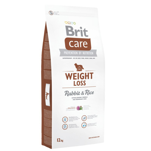 Brit Care Weight Loss Iepure si Orez 12 kg 0