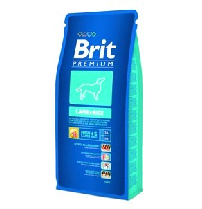 Brit Premium Adult Lamb and Rice 15 kg 0