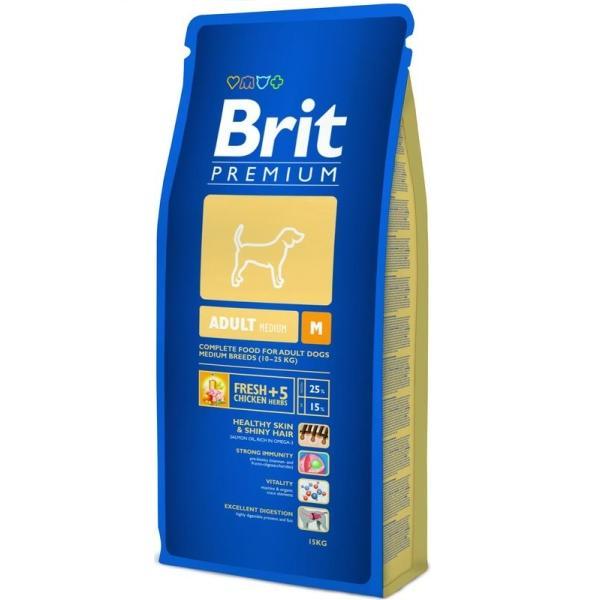 Brit Premium Adult M 15 kg [0]