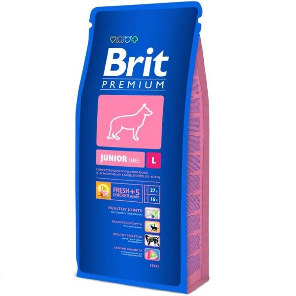 Brit Premium Junior L 15 kg 0