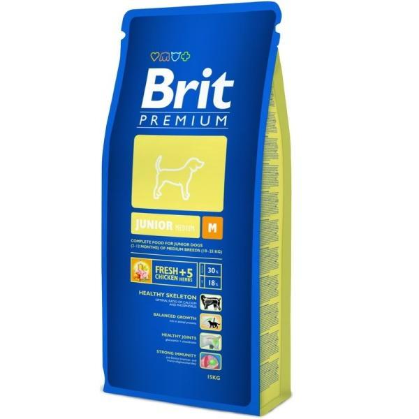 Brit Premium Junior M 15 kg 0