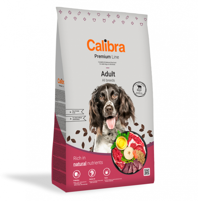 Calibra Dog Premium Line Adult Beef, 12 kg [0]
