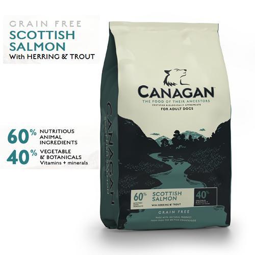 Canagan Grain Free cu Somon 12 kg 0