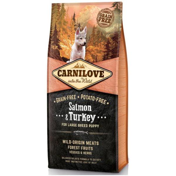 Carnilove Puppy Large Salmon & Turkey 12 kg 0