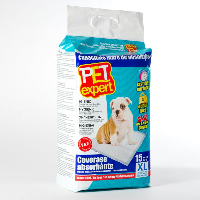 Covorase absorbante Pet Expert 60x90 cm/15 buc 0