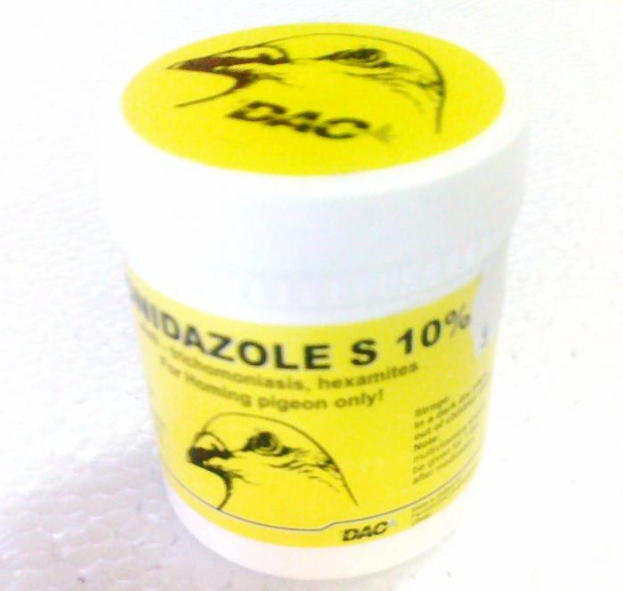 DAC Ronidazole 10% 150g 0