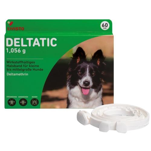 Deltatic 60 cm, zgardă antiparazitară pentru câini [0]