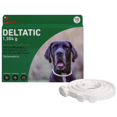 Deltatic 75 cm, zgardă antiparazitară pentru câini [0]