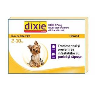 Dixie Pipeta Antiparazitara Caini 2-10 Kg 0