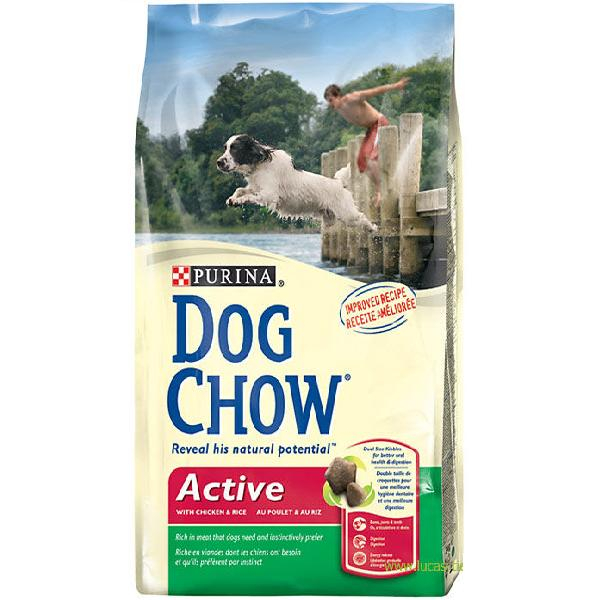 Dog Chow Active 15 kg 0