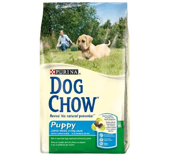 Dog Chow Puppy Large 15 Kg 0