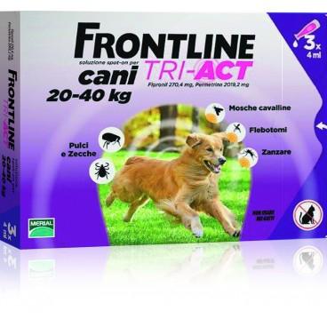 Frontline Tri-Act Spot-On L 20-40 kg 1 pipeta 0
