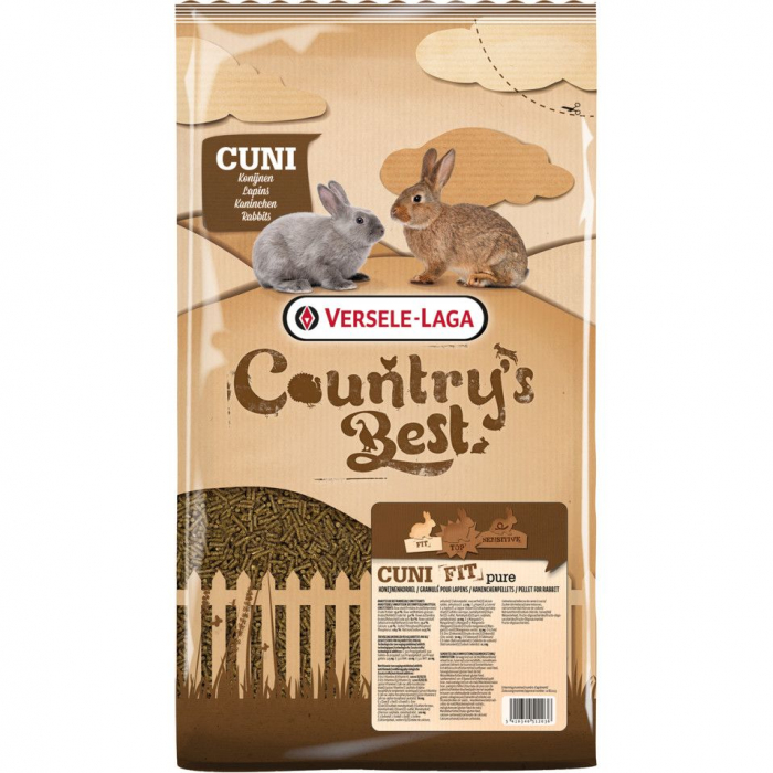 Hrana iepuri Country's Best - Cuni Fit Pure 0