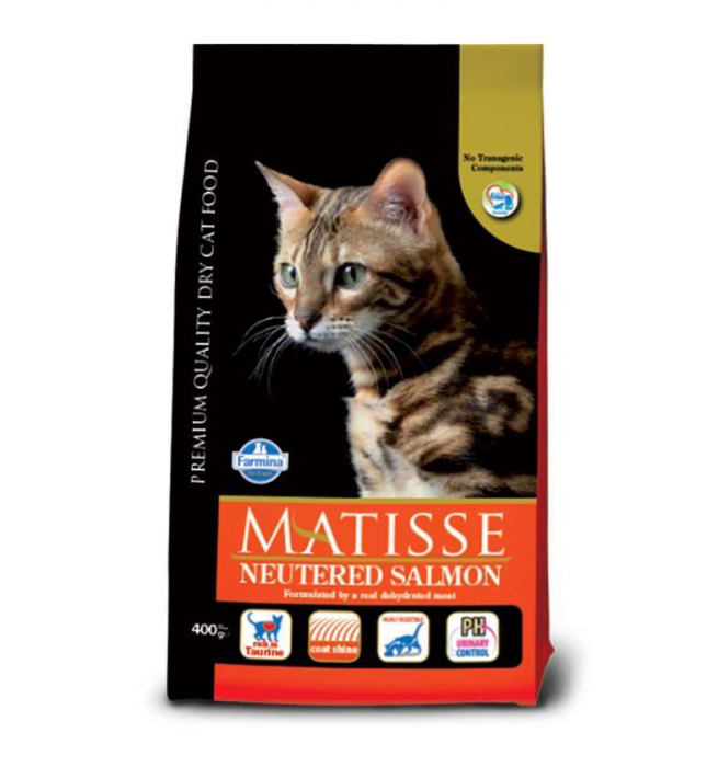 Matisse Sterilised Somon, 10Kg 0