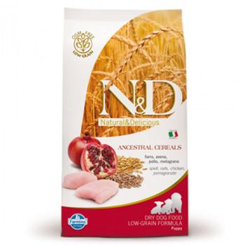 N&D Low Grain Puppy Pui si Rodie 12 kg 0