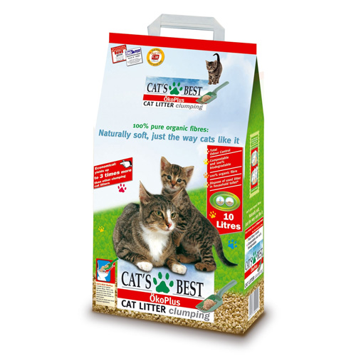 Nisip Cats Best Oko Plus 10 L 0