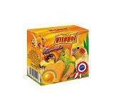 Os calciu cu portocale pt papagali 35g 0