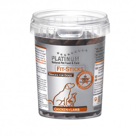 Platinum Fit Sticks Chicken and Lamb 300g 0