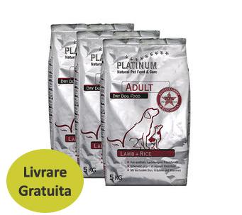 Platinum Lamb & Rice 15 kg 0
