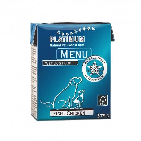 Platinum Menu Fish & Chicken 375g 0