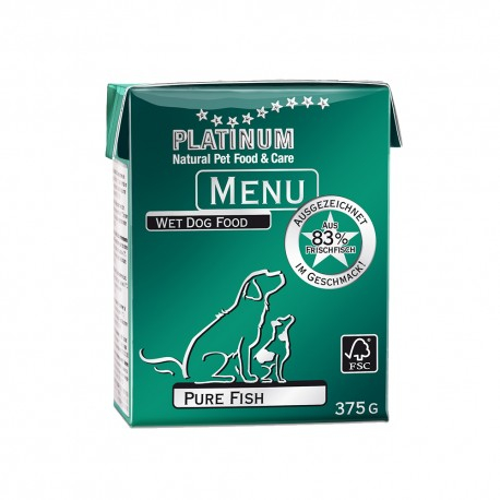 Platinum Menu Pure Fish 375g 0
