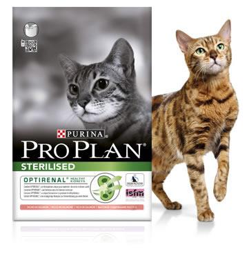 Pro Plan Cat Optirenal Sterilised 10 kg 0